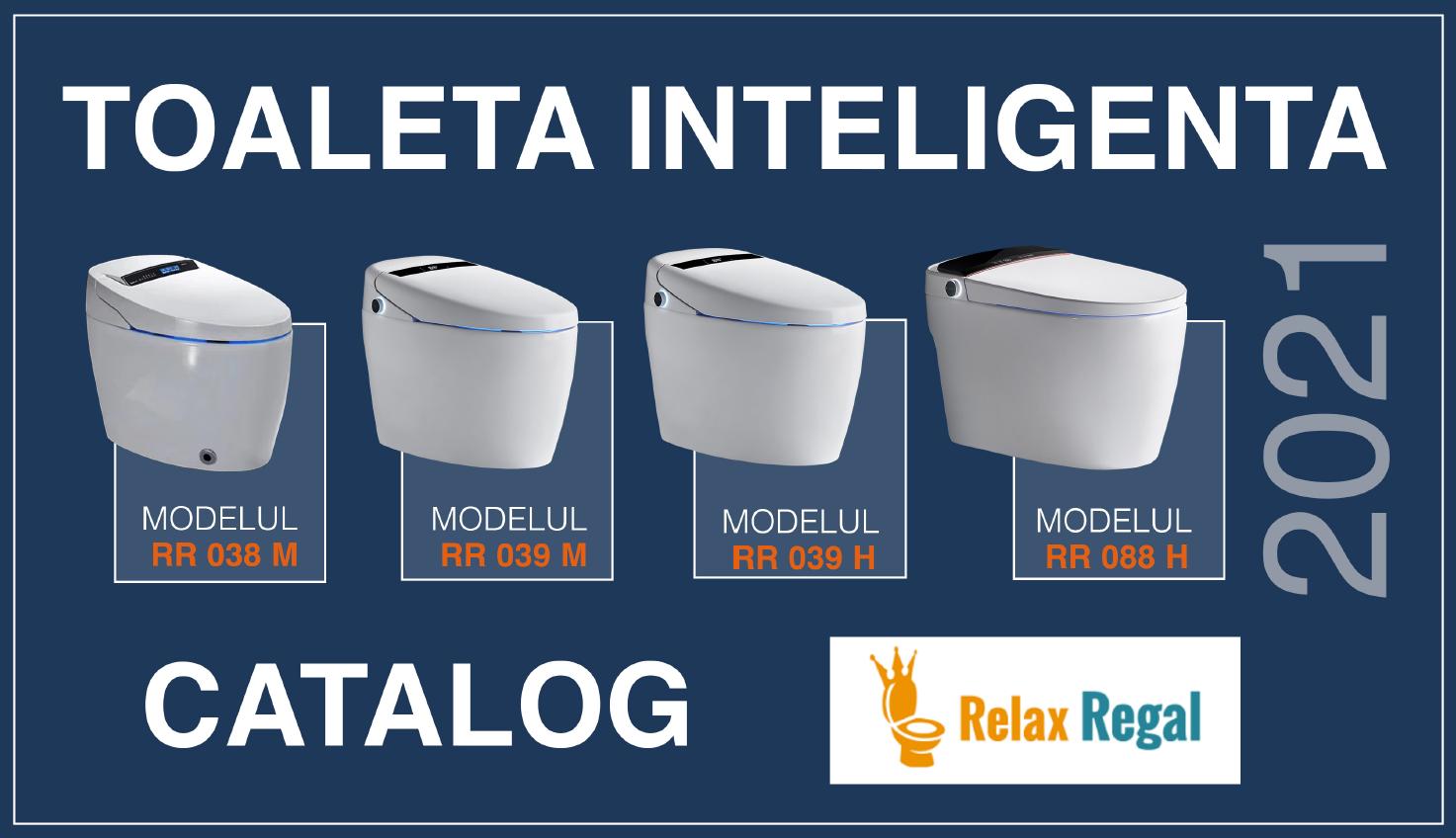catalog toalete inteligente Relax Regal